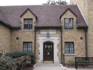 Kittredge Hall entry